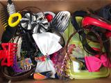 Assorted Hair Bows, Head Bands and Clips