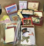 Assorted Christmas & Greeting Cards
