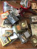 Large Lot of Assorted Picture Frames and Stands