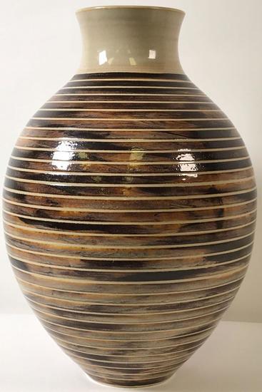 Modern Artisan Pottery Jug/Vase 2006 Signed