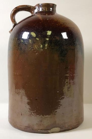 Vintage Brown Crock Jug