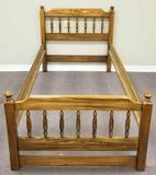 (1) Twin Bedframe (matches lots 46 & 45) (LPO)