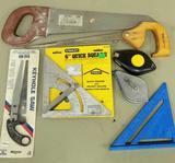 (7) Drywall Tools