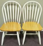 (2) Wooden Chairs (LPO)