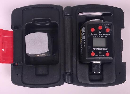 """Powerbilt Digital 1/2"""" Drive Torque Adapter"""