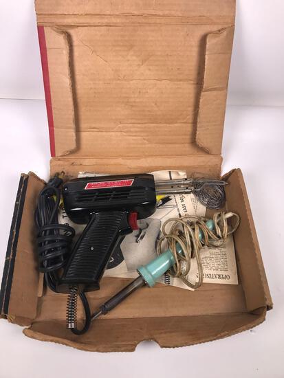 (2) Weller Soldering Guns