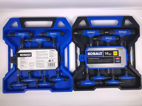 Kobalt 14 pc T-Handle Hex Key Set