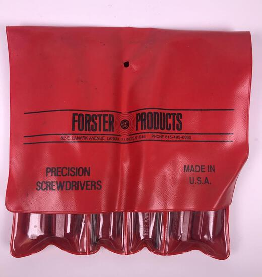 Forester 8 pc Precision Screwdrivers