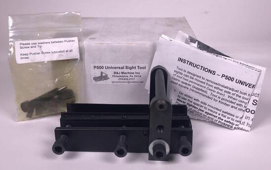 B&J Machine P500 Universal Sight Tool