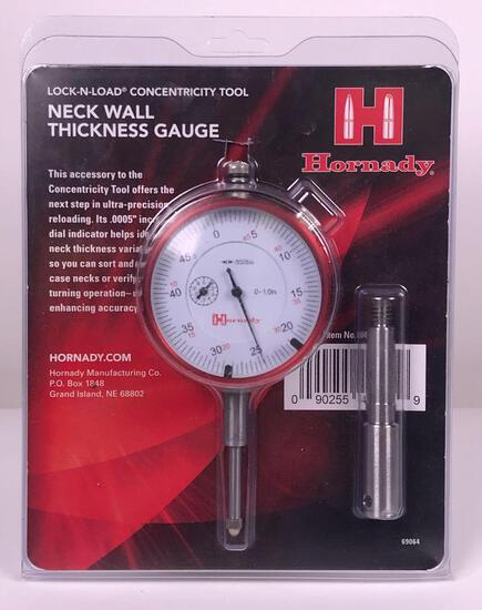 Hornady New Neck Wall Thickness Gauge