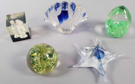 (5) Paperweights