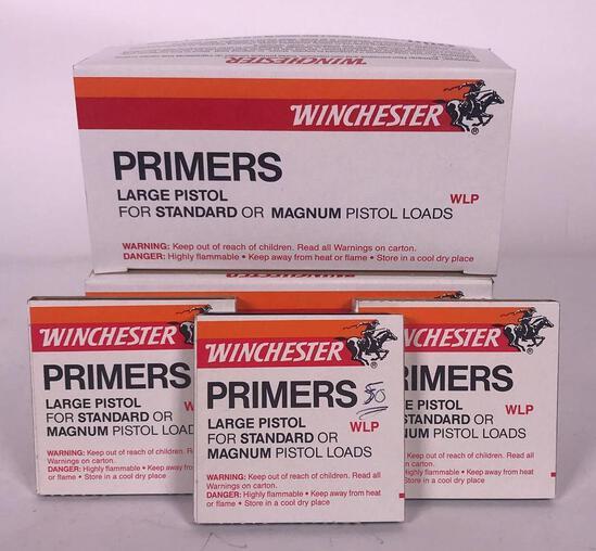 2,250 Winchester Large Pistol Primers (LPO)