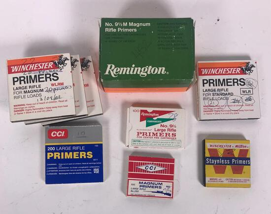 891 Assorted Rifle Primers (LPO)