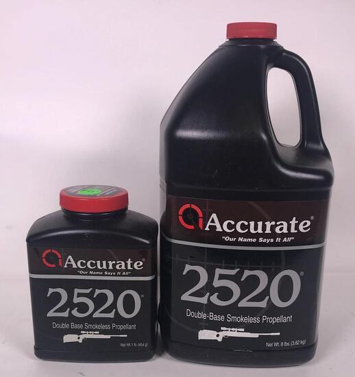 Accurate 2520 Double Base Smokeless Powder (LPO)