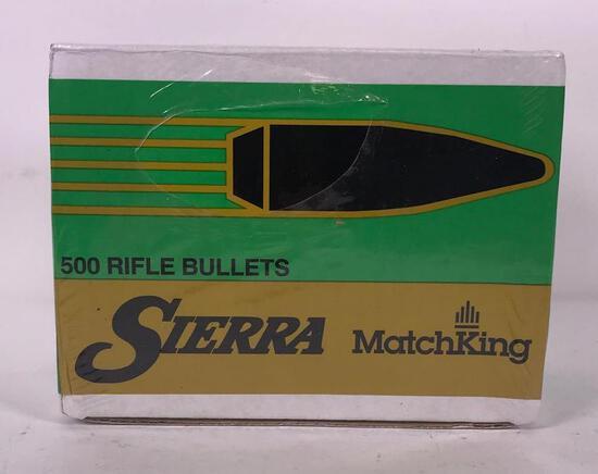 500 Sierra Matchking 2200c .30 Cal/.308 Diameter Bullets
