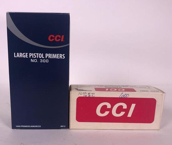 1,600 Assorted Large Pistol Primers (LPO)