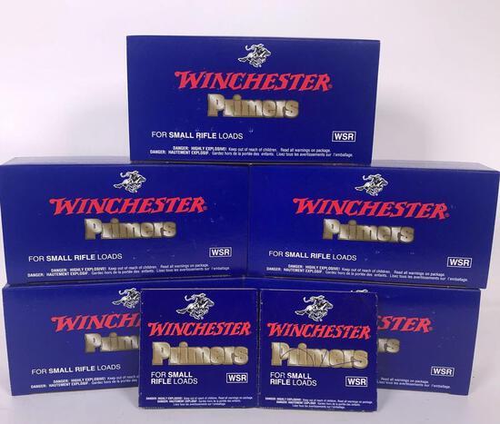 5,152 Winchester Small Rifle Primers (LPO)