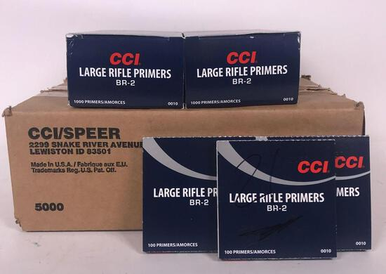 7,221 CCI BR-2 Large Rifle Primers (LPO)