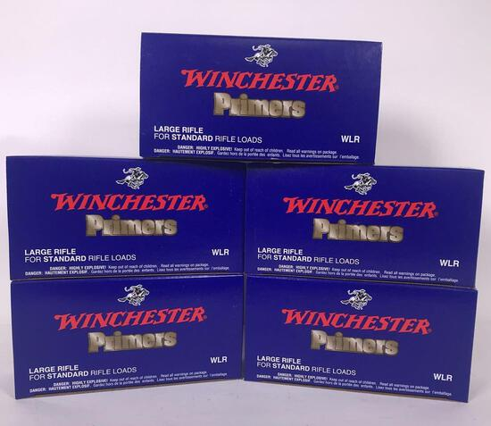 4,700 Winchester Large Rifle Primers (LPO)