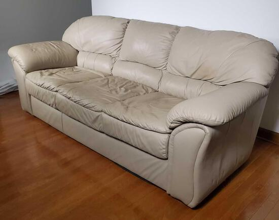 Leather Sofa (LPO)