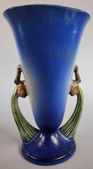 Roseville Pinecone Vase 747-10