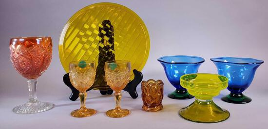 (8) Pieces Collectible Glass Lot