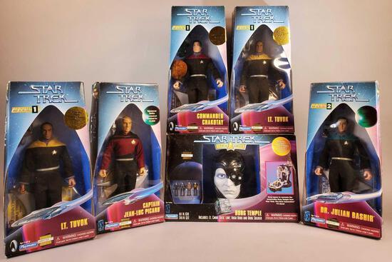 (6) Star Trek Figures (NIB)