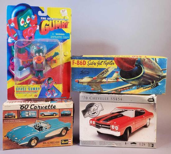 (4) Vintage Toys