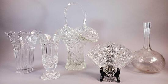 (5) Pieces of Clear Glass