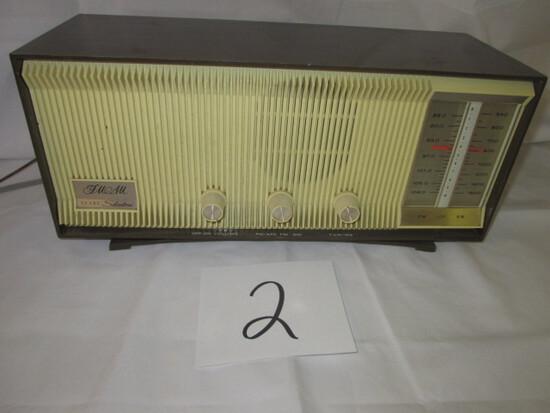 Sears Silvertone Radio