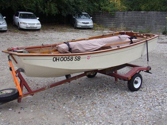 Mirror Dinghy Sail Boat