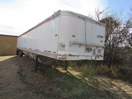 42 Ft. Timke Grain Trailer 62 in Sides, Roll Over Tarp