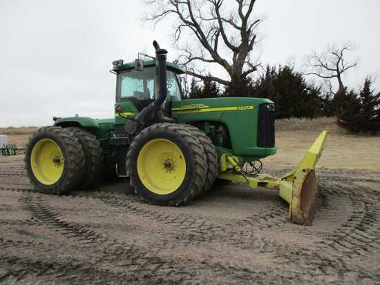 2005 John Deere Tractor 9220 SN# RW9220PO30552, 5097 Engine Hours - 325 HP,