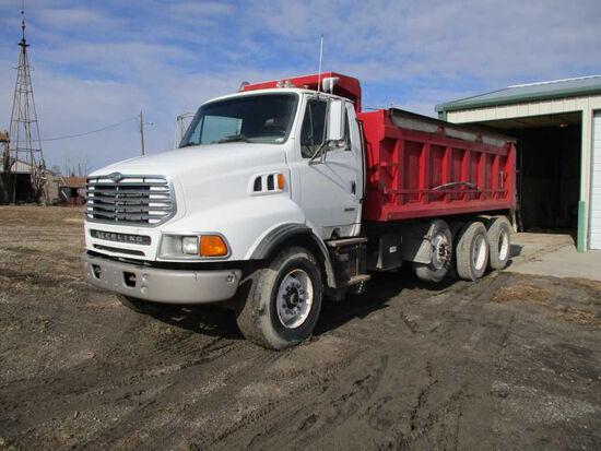 2000 Sterling Dump Truck, 3406 Cat Engine, 355 Hp., 18 Ft. Madar Dump Bed,