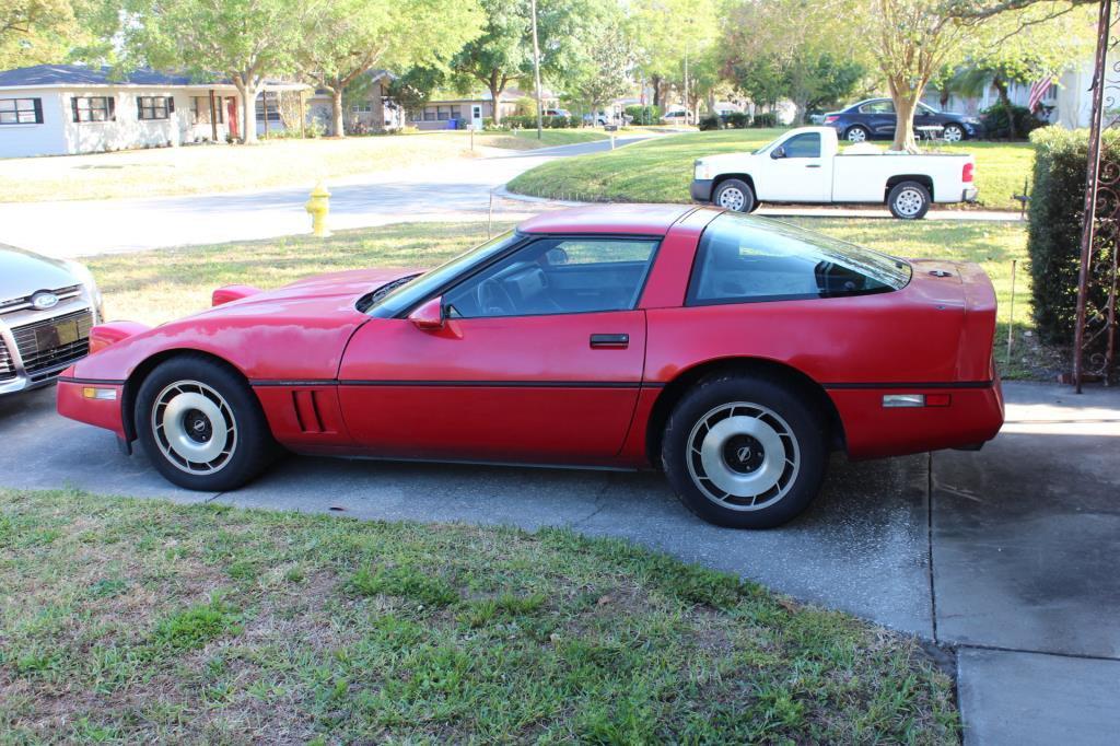 1985 Chevy Corvette, VIN:1G1YY0782F5102394