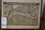 Map of the Barbary Coast,