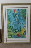 Magic Flute Giclee, 75/500 by Marc Chagall