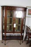 Antique Curio/China Cabinet, Mahogony