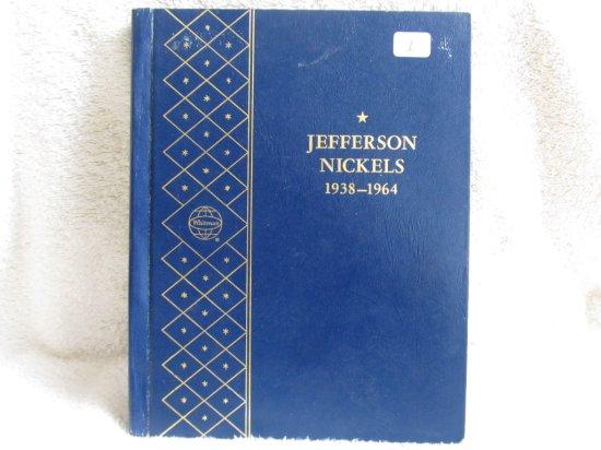 1938-61D JEFFERSON NICKELS COMPLETE IN ALBUM