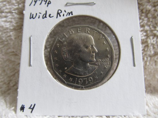 1979P WIDE RIM SUSAN B. ANTHONY DOLLAR BU