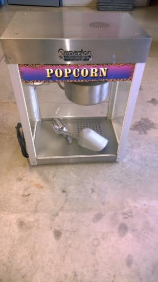 Superior Products Popcorn Machine˜
