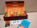 SALESMAN NEW HOLLAND TWINE KIT 10 ROLLS TWINE IN ORG. CARRY CASE WITH ORG. PAPERWORK EXT. RARE ONLY
