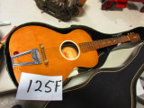 JACKSON GULDAN GUTAIR MADE IN COLOMBUS OH. LIKE NEW INC. PICK STRAP & PAPERS