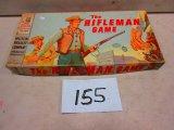 MILTON BRADLEY RIFLEMAN GAME 1959