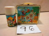 WALT DISNEY MICKEY MOUSE CLUB LUNCH BOX WITH THERMOS