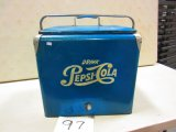 RARE EARLY PEPSI COOLER WITH TRAY