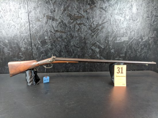 Unknown 20 Gauge SxS Percussion - Nice Engraving - (German Styling)