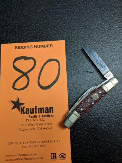 United Boker 4 Blade Pocket Knife - Tobacco Jack - UC121R