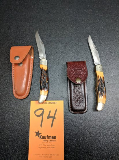(2) Camillus Pocket Knives