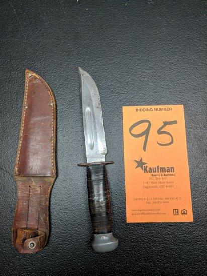Pal RH36 Straight Blade Knife & Sheath